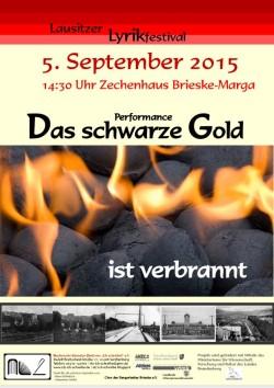 Plakat-Das schwarze Gold