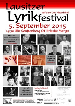 Plakat-Lyrikfestival 2015
