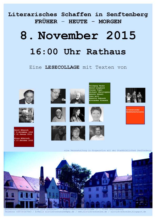 Literarisches Schaffen in Senftenberg