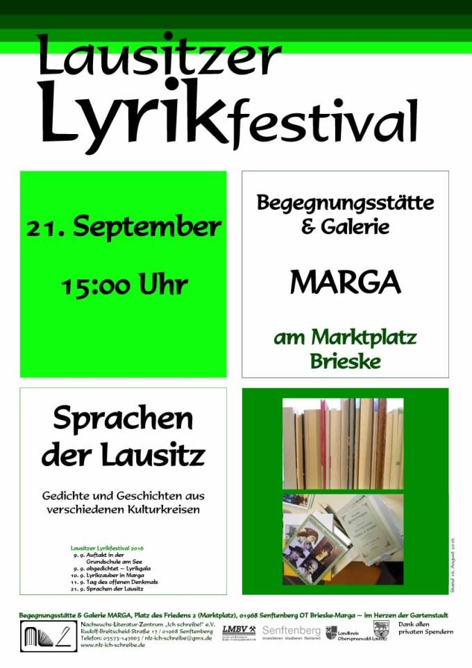 Plakat-LL-Sprachen der Lausitz 2016